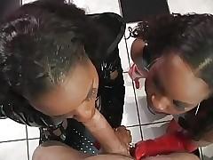 Vídeos de sexo grátis para FFM - sexo de ébano apaixonado