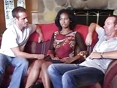 Threesome free xxx videos - fat ebony sex