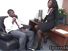 Secretary free xxx videos - black on black xxx